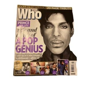 Who magazine life and death of a pop genius.